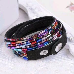 Jewelry - 🎀3/$22🎀 Rhinestone Wrap Bracelet